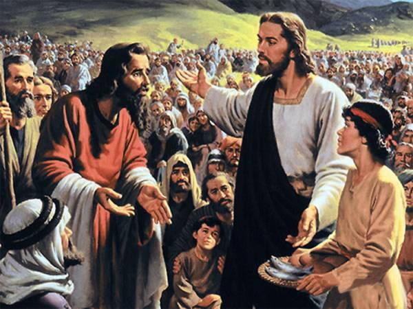 Иисус Хритос людей спасав