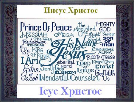 имя Иисус Христос Jesus Christ
