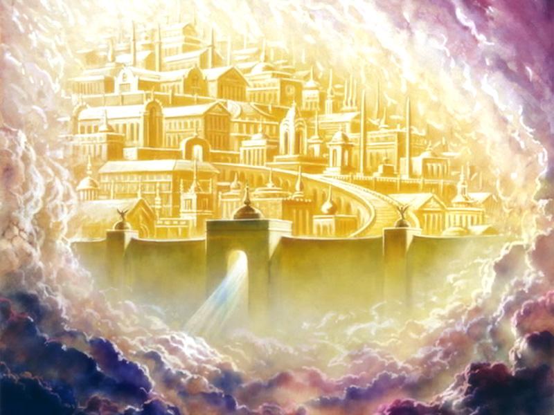В Небесах Країна є, Там горя і зла не має, Там Божа Любов панує, Теплом всіх зігріває