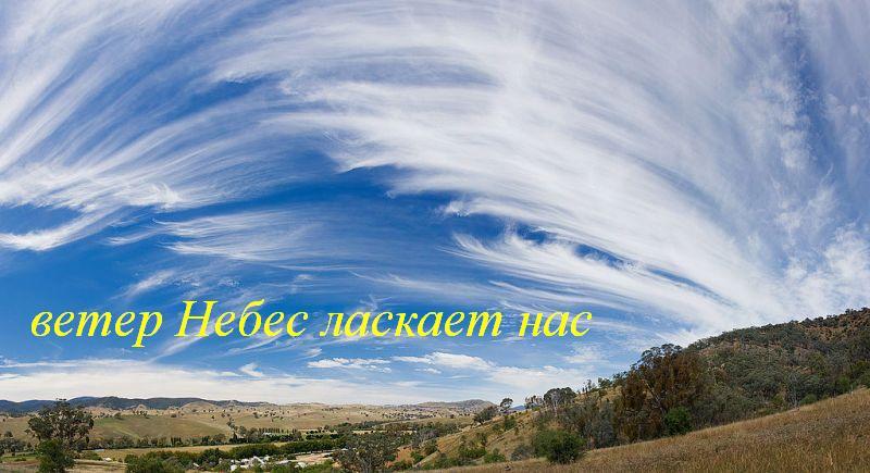 Ветер любви ласкает нас
