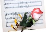 роза и листок